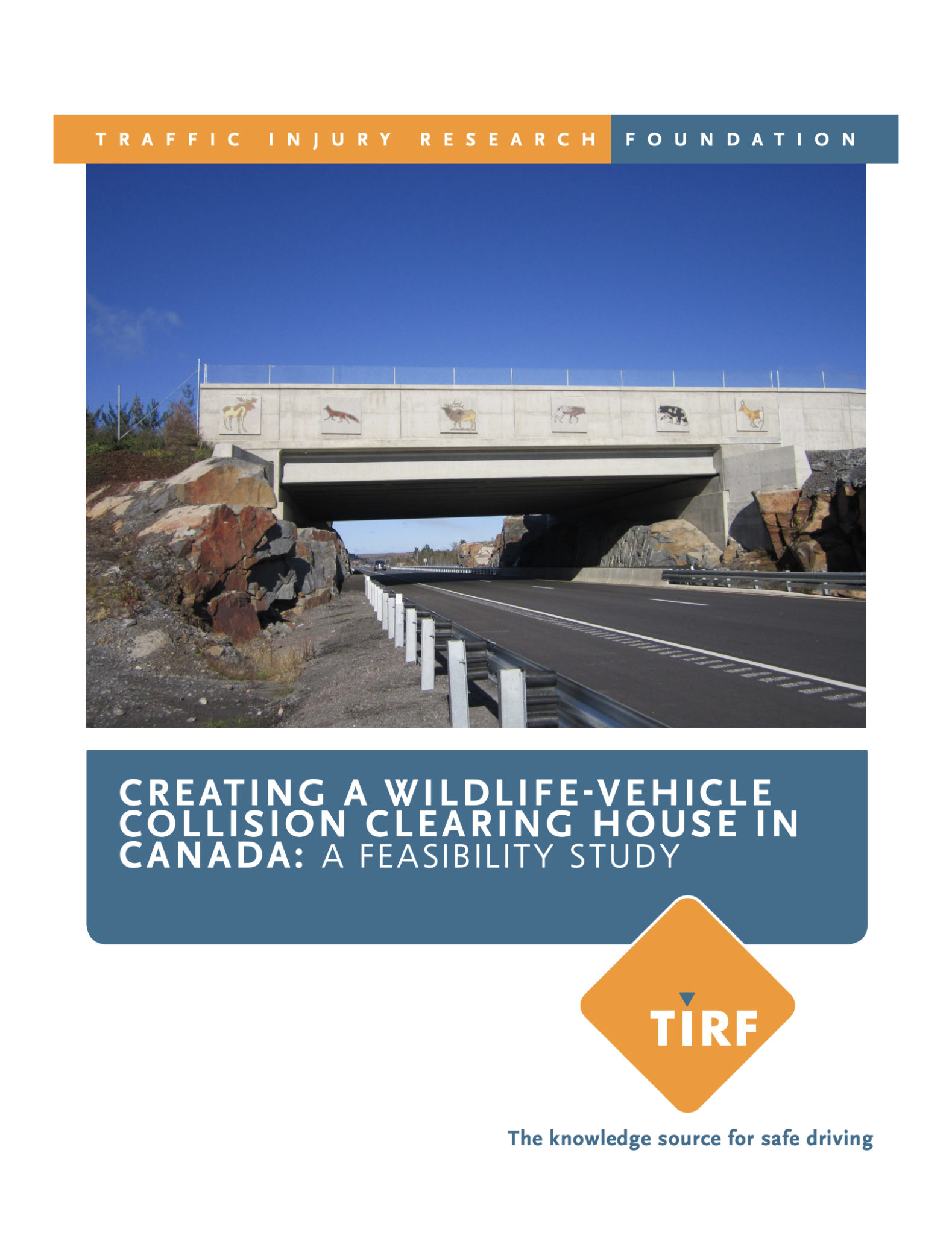 Creating a Wildlife-Vehicle Collision Clearing House in Canada: A Feasibility Study (2012)