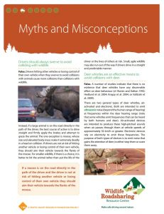 Wildlife Myths and Misconceptions